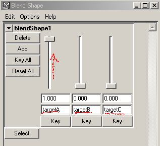 maya tutorial FAQ blend shape deformer
