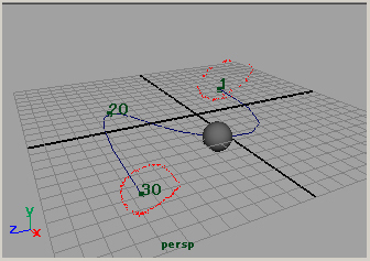 maya tutorial camara animation motion path