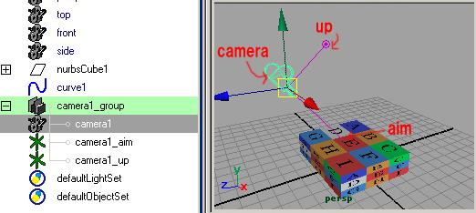 maya チュートリアル カメラ モーションパス アニメーション