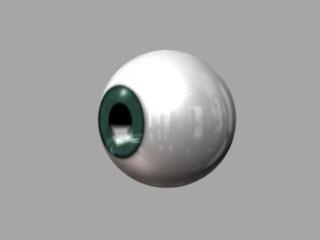 maya チュートリアル 眼球