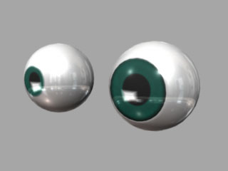 maya tutorials eyeballs eye material modeling