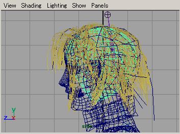 maya tutorials paint effects hair