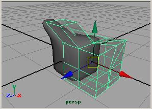 maya チートリアル ポリゴン モデリング スムースプロキシー